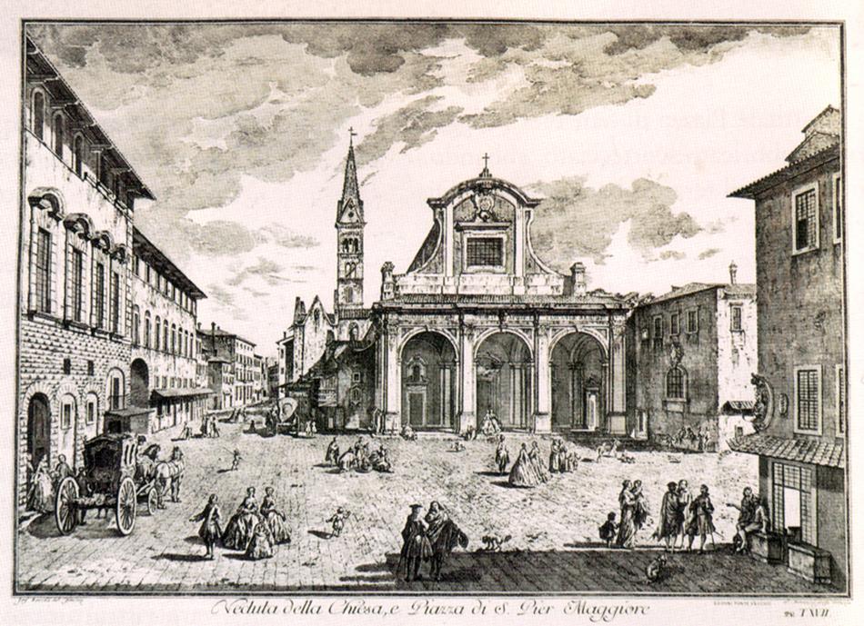 Giuseppe Zocchi, Scelta di XXIV Vedute delle Principali Contrade, Piazze, Chiese, e Palazzi della Citta di Firenze. Florence: G. Allegrini, 1744.