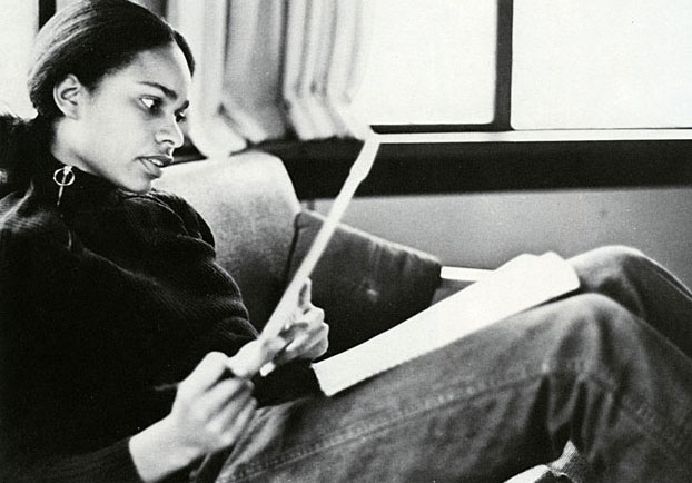 Saddie Smith, one of the first Black women to graduate from Bowdoin, depicted in the student yearbook from 1975